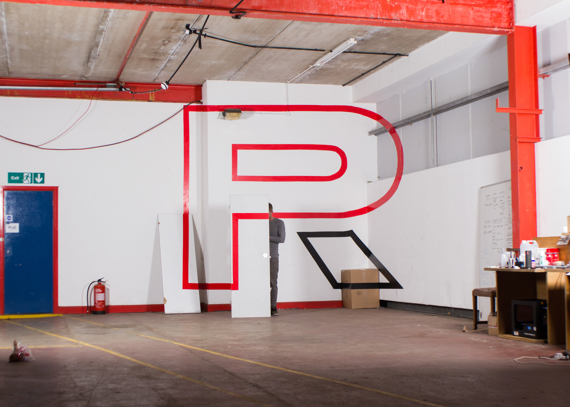 Peter Roden Design Anamorphic Typography