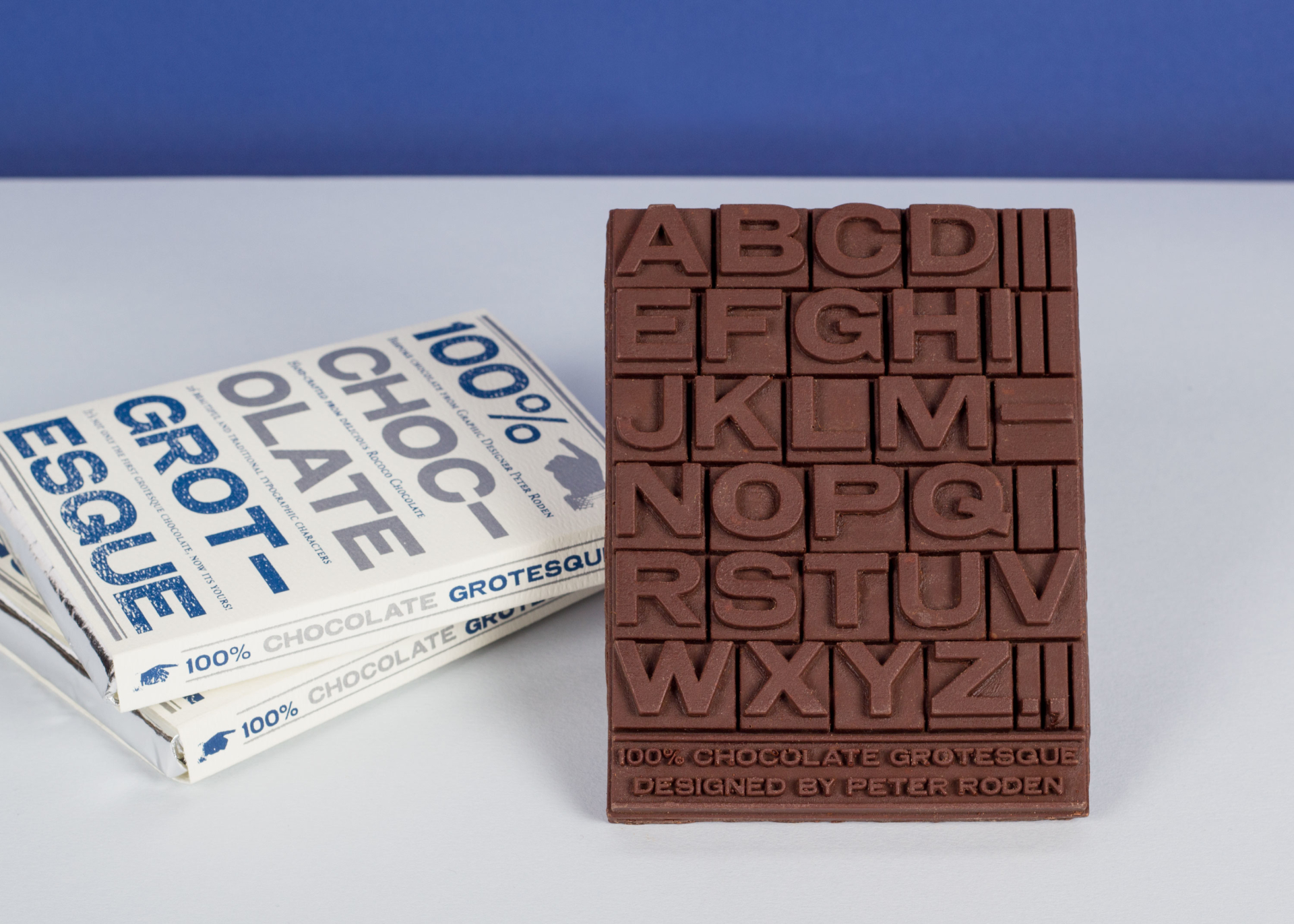 Peter Roden Design 100% Chocolate Grotesque