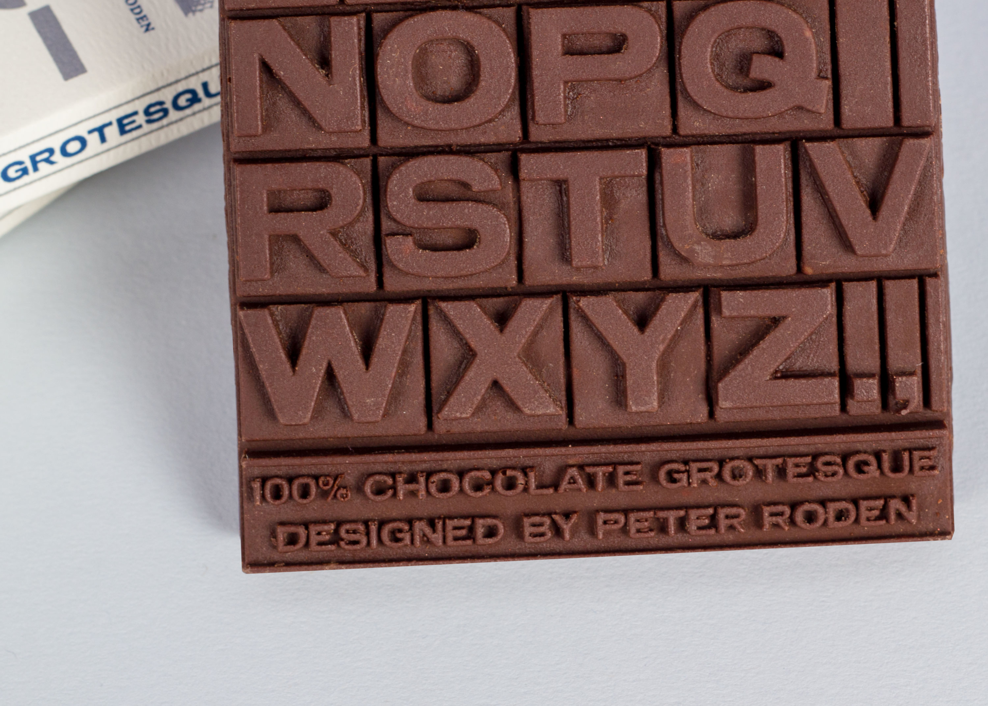 Peter Roden Design 100% Chocolate Grotesque