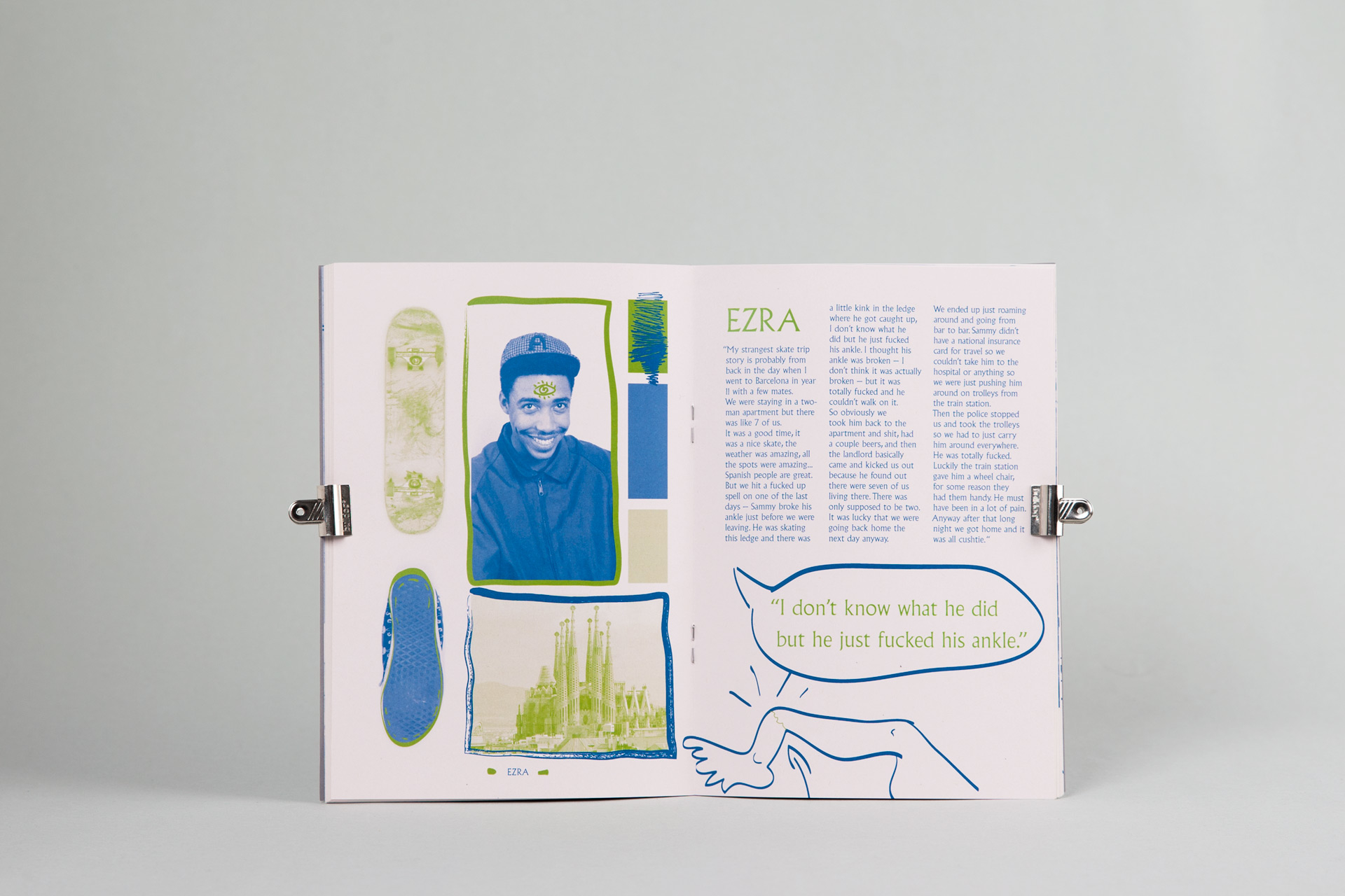 Peter Roden Design Skatelore Zine