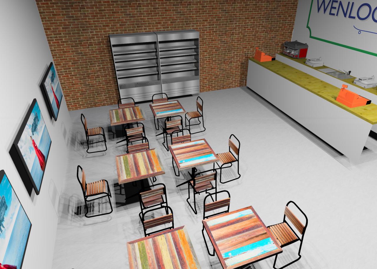 Peter Roden Design Wenlock Cultural Centre Model