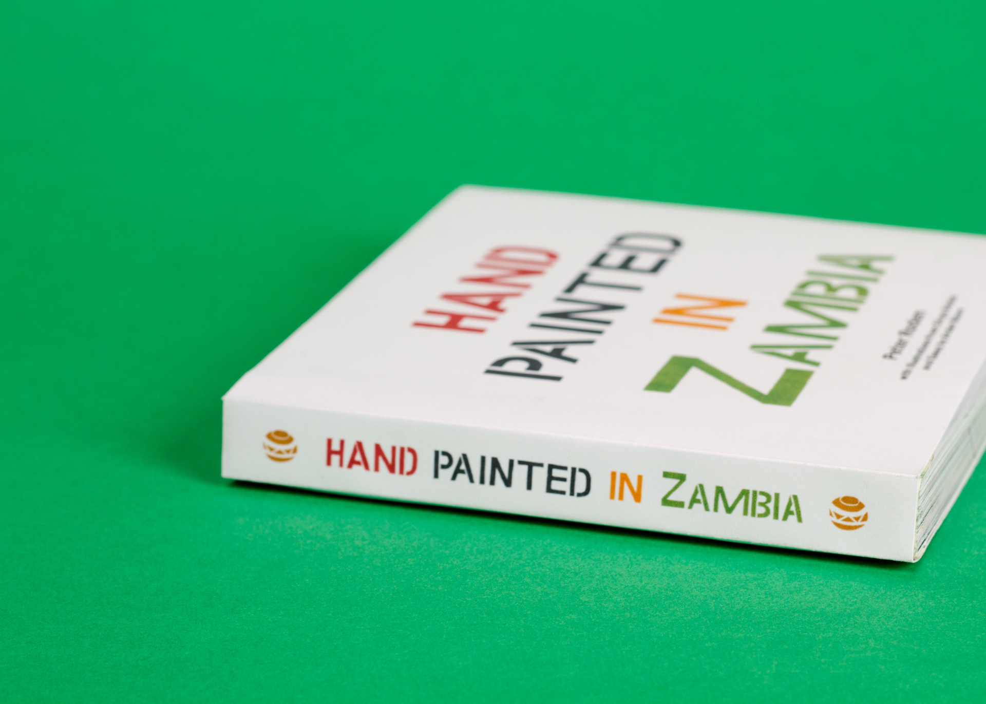 Peter Roden Design Hand Painted in Zambia Book